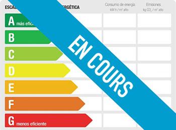 Certificat de performance énergétique en cours
