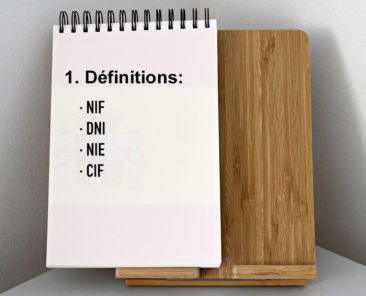 Cif, Nie, Dni et Nif